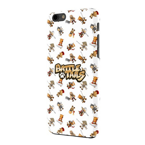 Mini Mash-Up Battle Tails iPhone 6+ Phone Case