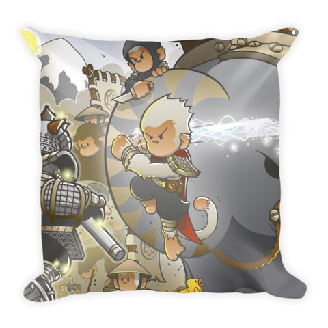 Power Battle Tails Pillow front