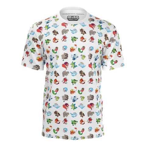 Epic MinoMonsters Pattern Shirt front