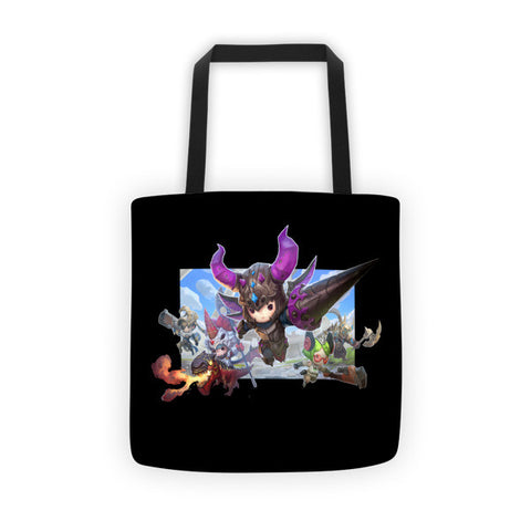 Ares and Castle Buddy Rush Tote Bag front