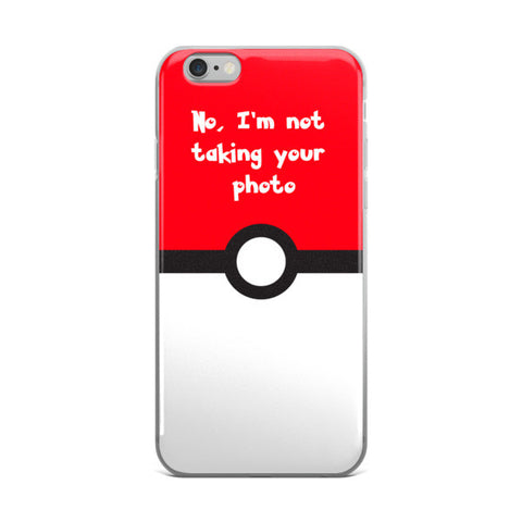 I'm Training, not taking a photo! Phone Case