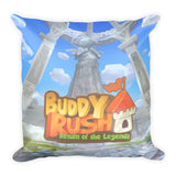 Ares and Castle Buddy Rush Pillow back
