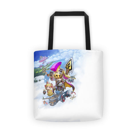Air Ship Buddy Rush Tote Bag front