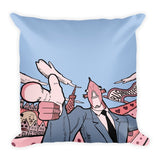 I Want You Business Fish Pillow front