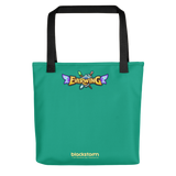 EverWing Green Monster Tote Bag