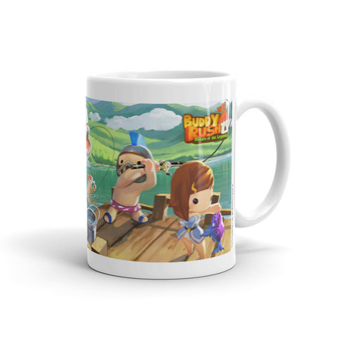 Fishing Adventure Buddy Rush Mug front