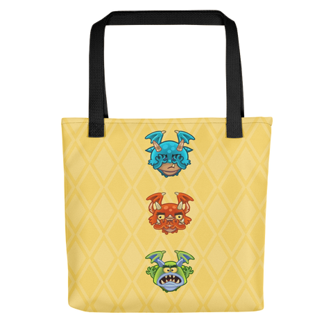 EverWing Monsters Tote Bag