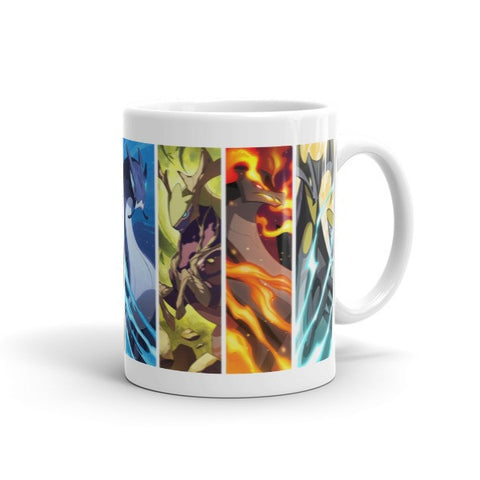 MinoMonsters Powerful Elemental Minos Mug side