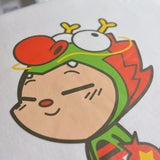 Martin Hsu's Dragon Boy Sticker T-Shirt