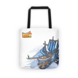 Air Ship Buddy Rush Tote Bag back