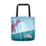 Miss Tentaca vs Hero Tap Titans Tote Bag