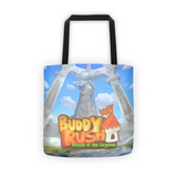 Ares and Castle Buddy Rush Tote Bag back