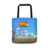 Ares Attacks Buddy Rush Tote Bag back
