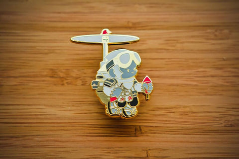 Copter Squad Battle Tails Pin