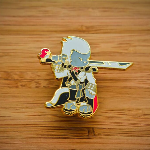 Shirokuri Battle Tails Pin