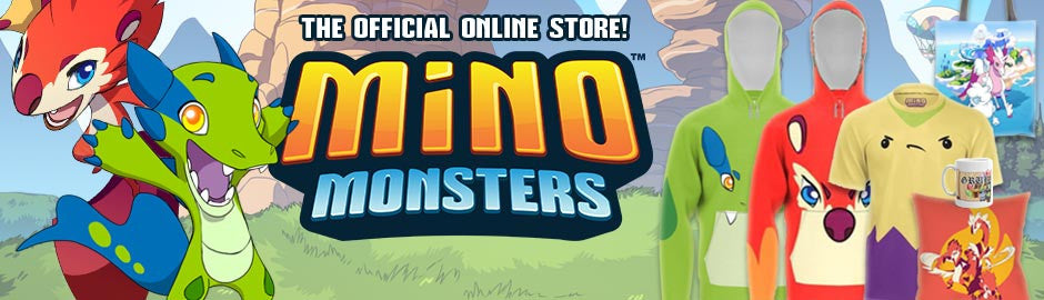 The Official Minomonsters 2 Online Shop!  Support the Minos today!