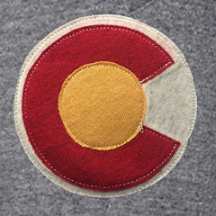 Colorado Clothing Colorado Flag Aplique