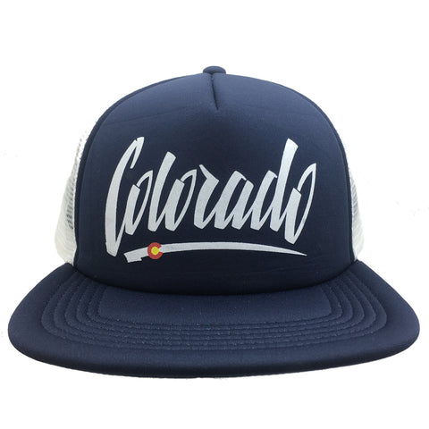 Colorado Trucker Hat Foam Trucker hat