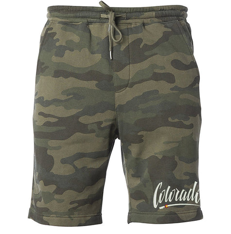 Colorado Shorts Camo Colorado Clothing