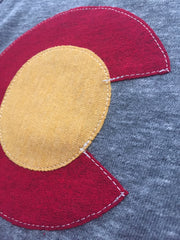 Cut and Sewn Colorado Flag Apparel by Colorado.Clothing