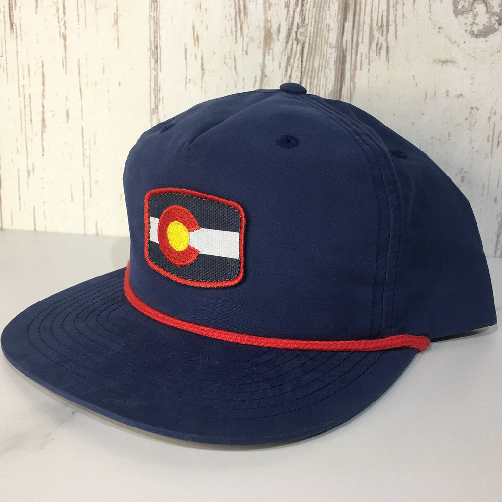 Colorado State Flag Hat Colorado Cap Colorado Accessories Retro Vintage Colorado Hats