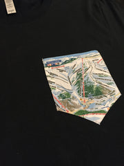 Trail Map Art Colorado T-Shirt