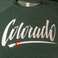 Embroidered Colorado Sweatshirt