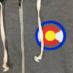 Embroidered Colorado Jacket Colorado Hooded Sweatshirt