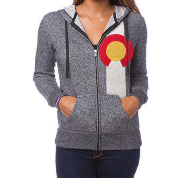 Colorado Zip Hoodie Colorado Sweatshirt Women's