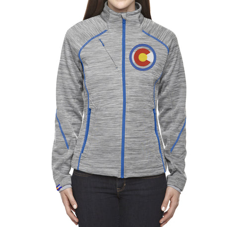 Ladies Colorado Jacket Embroidered Colorado Clothing