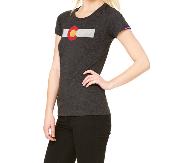Colorado t-shirt Ladies Black Colorado Clothing