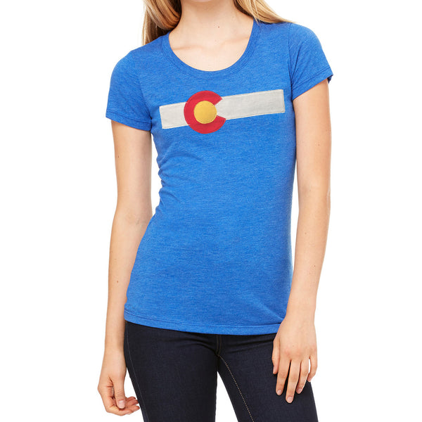 Women's Colorado t shirts Royal