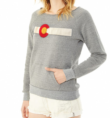 Ladies Reissue Colorado Sweatshirt Grey
