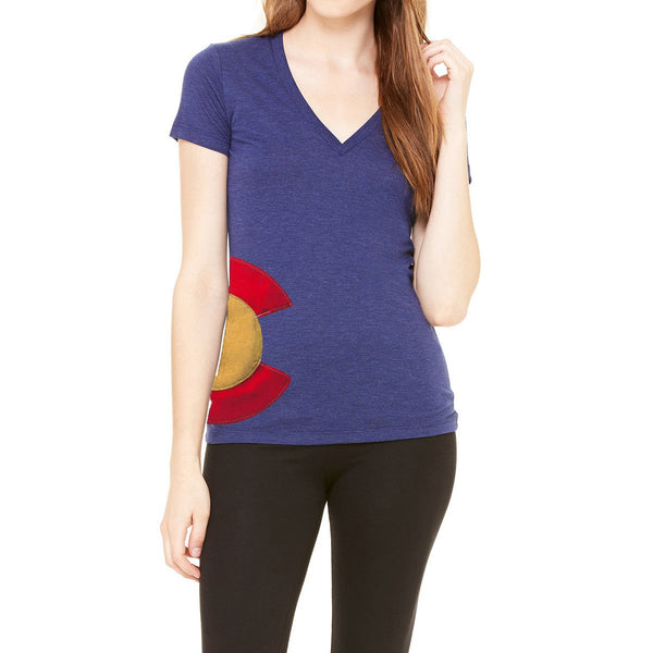 Ladies V-Neck Colorado Hipster