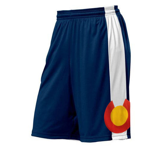 Colorado Basketball Shorts Navy Colorado Shorts