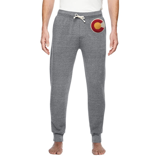 Colorado Flag Sweatpants Men's Jogger Sweats