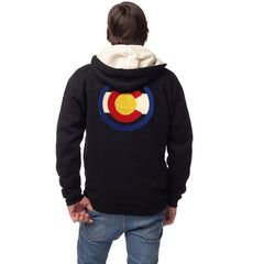 Colorado Hoodie Colorado Flag Sweatshirt Colorado jacket