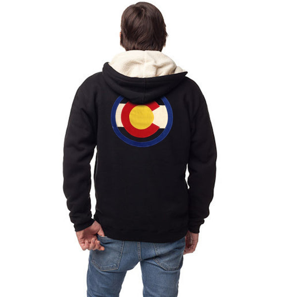 Men's Heavyweight Sherpa Lined Hoodie