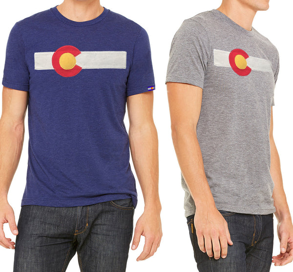 Men's Classic Colorado Flag T-Shirt