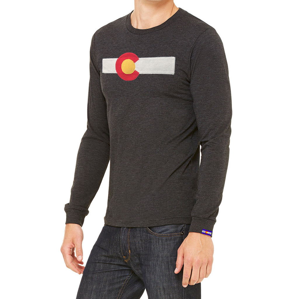 Long Sleeve Colorado Flag Shirt