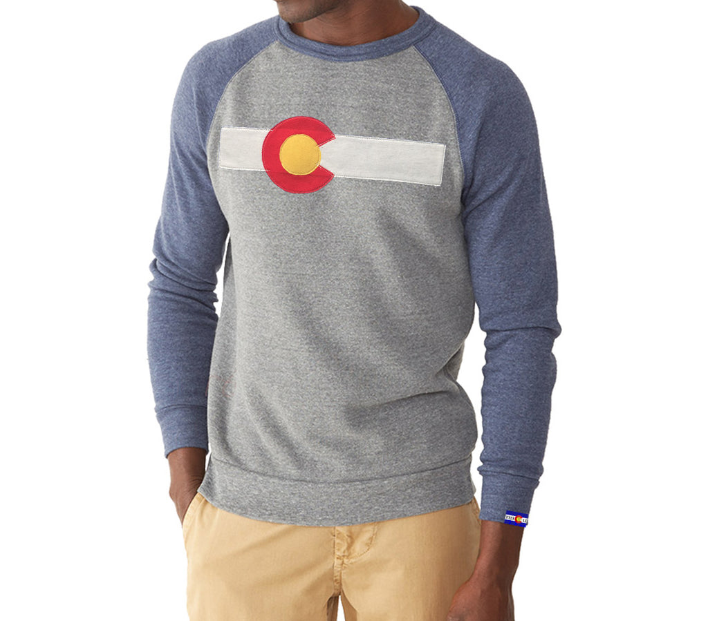 Colorado State Sweatshirt in Navy Grey