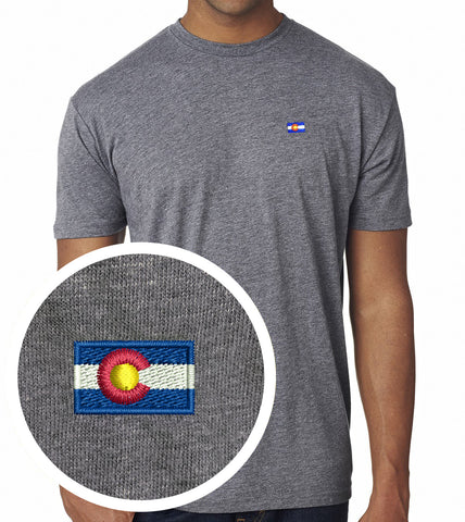 Embroidered Colorado Shirt Grey