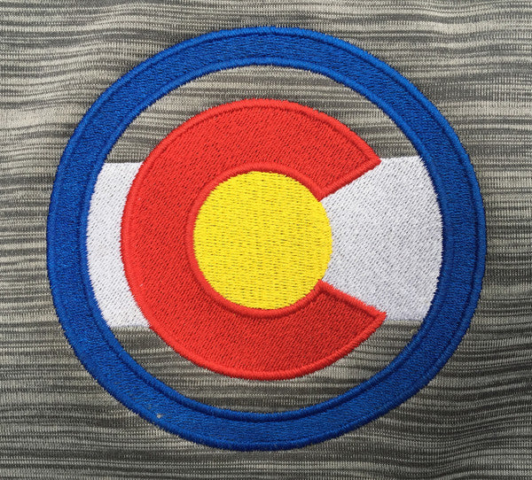 Colorado Flag Logo Colorado Clothing Men's Colorado Jacket