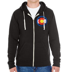 Colorado Sweatshirt Hooded Full Zip Sweater