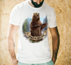 Papa Bear Rad Dads Club T-Shirt