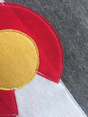 Cut and Sewn Colorado Flag Gifts