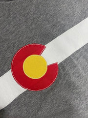 Men's Classic Colorado Flag Long-Sleeve