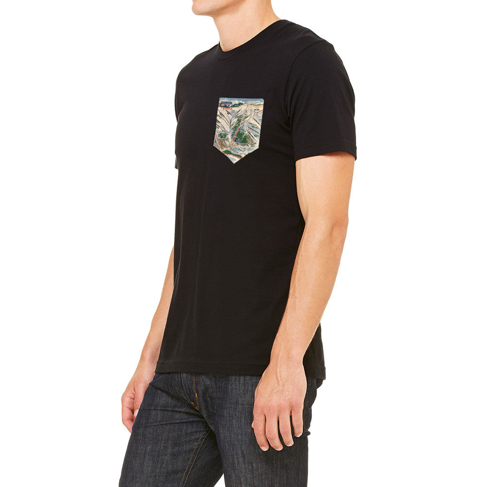 Trail Map Pocket T-Shirt Colorado Clothing