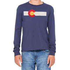 Youth ReIssue Flag Long Sleeve