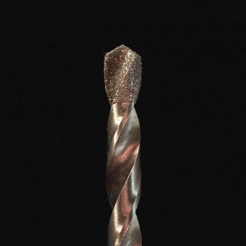 "A&M Instruments Industrial Diamond 1/2"" Twist Drill - 12twistdrill - A & M Instruments Quality Diamond Tools"